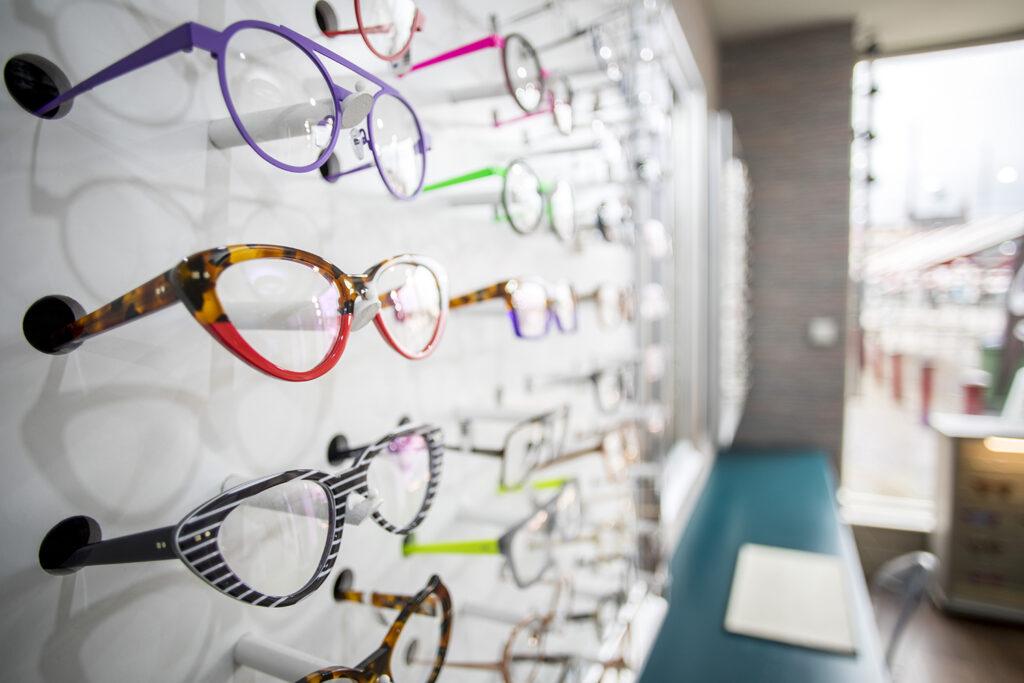 glasses wall 2